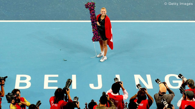 Ясни са осемте най-добри в женския тенис през 2010 г.
