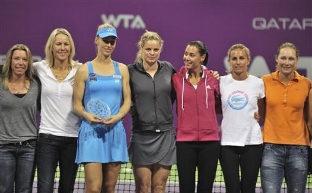 ВИДЕО: Звездите от WTA с пожелания за Елена Дементиева