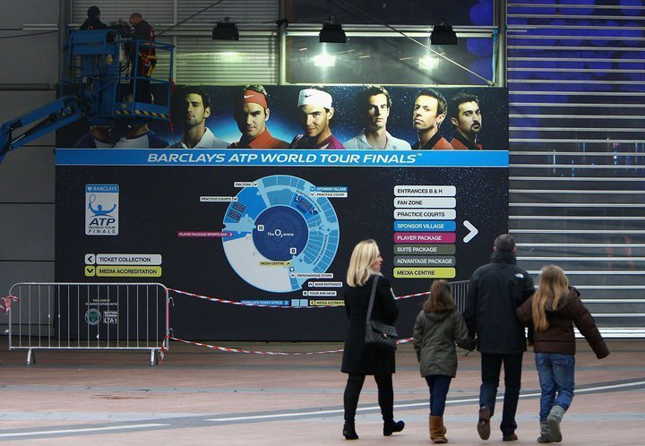 Програмата на ATP World Tour Finals за вторник