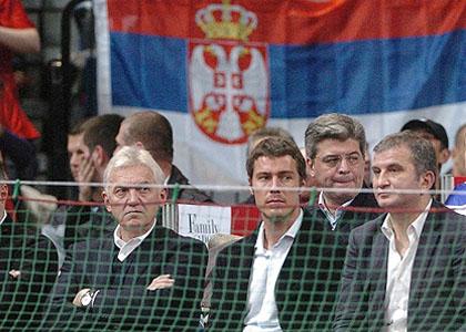 Марат Сафин надъхва Джокович и ко в Белград