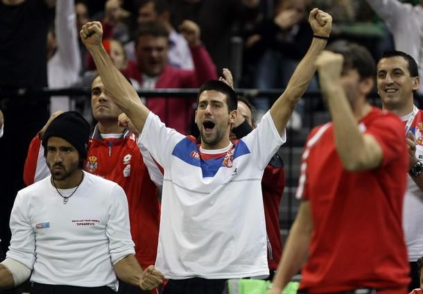 """""""Златната ера"""" в сръбския тенис продължава - Купа """"Дейвис"""" остава в Белград"""