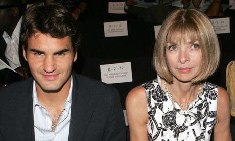 Forbes избра Федерер и Шарапова за законодатели в модата