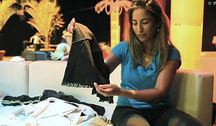 Араван Резаи показа гардероба си (видео)