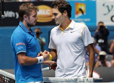 Вавринка: Федерер е фаворит за титлата