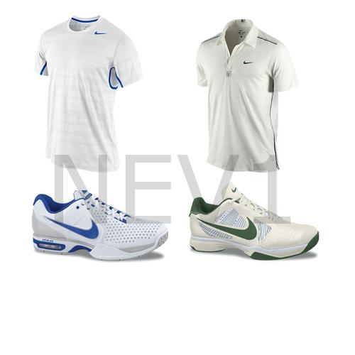 NIKE показа екипите на Федерер и Надал за Уимбълдън 2011