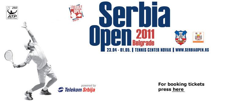 Българска група фенове за Serbian Open 2011 в Белград
