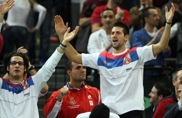 """Новак Джокович пропуска първия двубой на Сърбия за Купа """"Дейвис"""""""