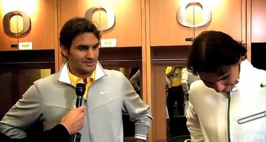 ВИДЕО: Федерер и Надал за съперничеството си