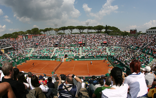 Програма за турнира в Рим за вторник, 10-ти май
