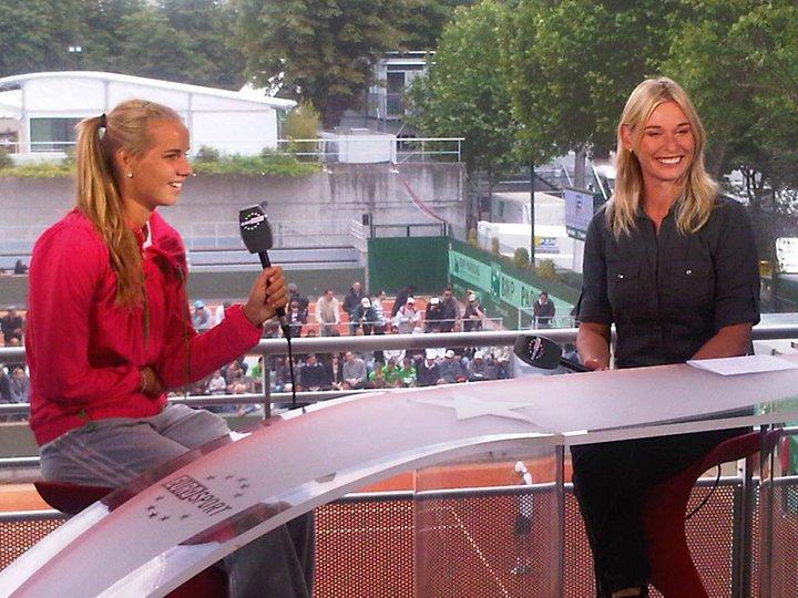 Аранча Рус сияе от щастие след победата над Клайстерс