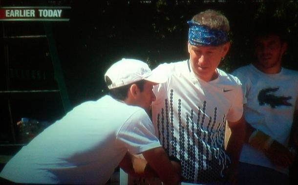 Джокович се готви за Федерер с Джон МакЕнроу (видео)