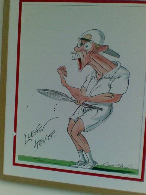 Вижте карикатури с най-известните шампиони на Уимбълдън