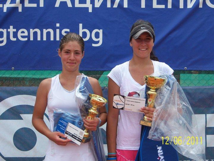 Джулия Терзийска и Петър Атанасов са шампиони до 16 години