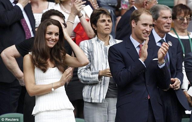 Принц Уилям и Кейт Мидълтън изпратиха Пиронкова на крака