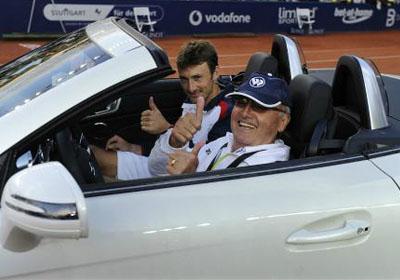 Фереро ще зарадва баща си с Мерцедес-а от Щутгарт