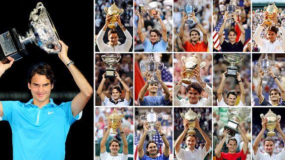 Роджър Федерер от 1 до 30