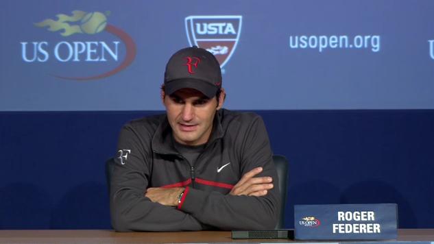 Федерер недоволен от бавните кортове на US Open