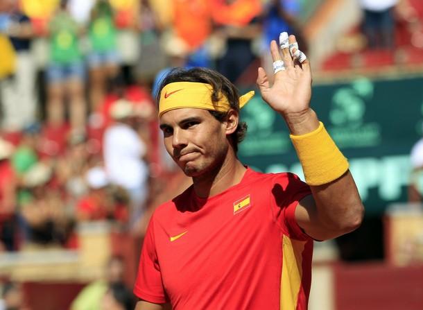 Надал отнесе Гаске и поведе Испания към финала