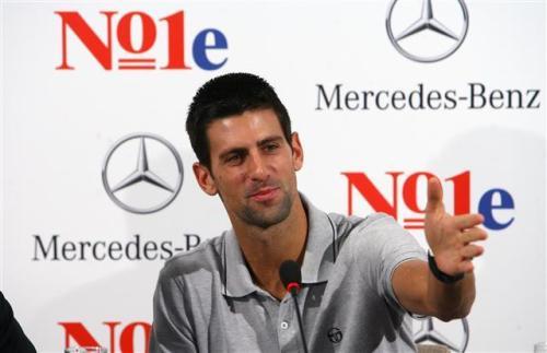NO1e Джокович е новото лице на Mercedes-Benz