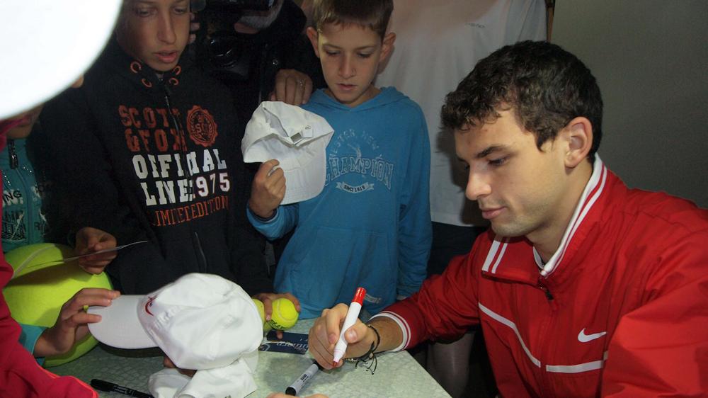Григор Димитров: Разбрах какво е да играеш с най-добрите