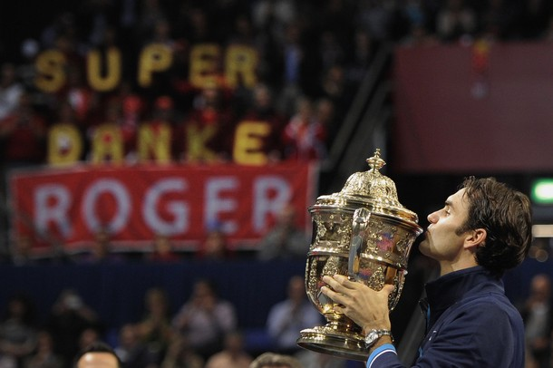 След 10 месеца суша: Федерер с титла в Базел (видео)