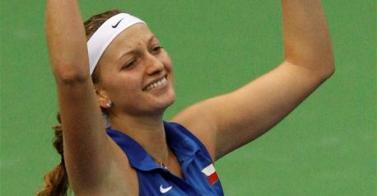 Квитова донесе на Чехия най-голямата отборна титла
