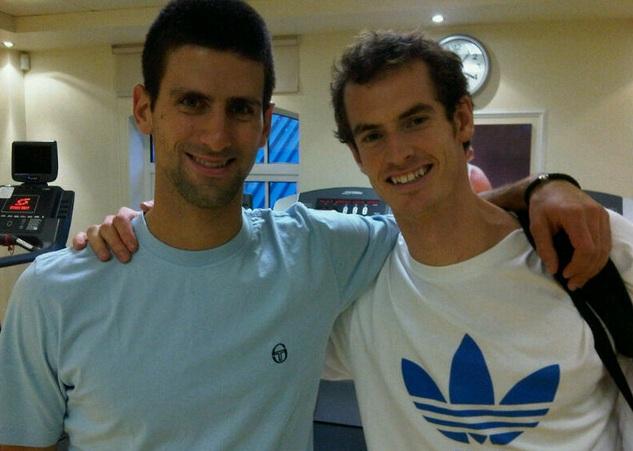 Мъри и Джокович тренират заедно, Федерер с Тим Хенман