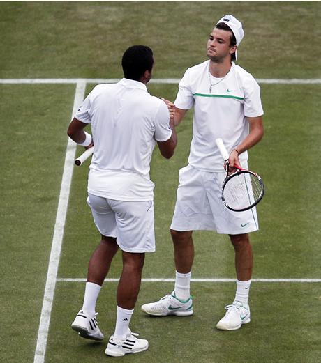 Цонга: Димитров е сред изгряващите звезди на тениса