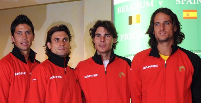 Испанските тенисисти скочиха срещу Яник Ноа
