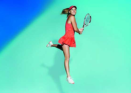 Вожняцки с полупрозрачна рокличка за Australian Open