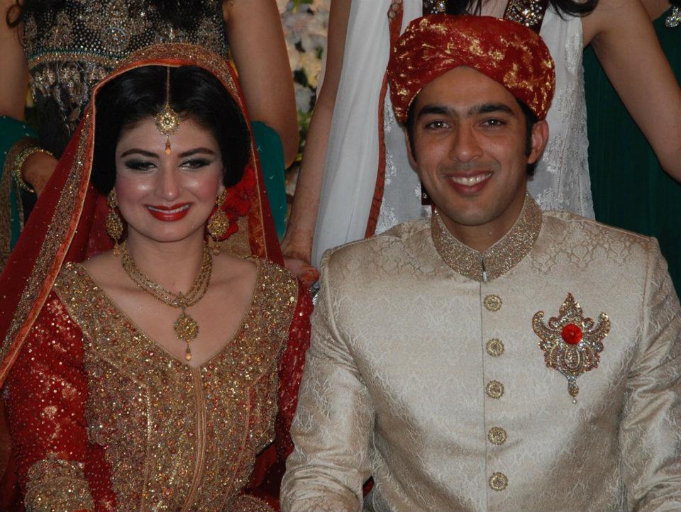 Пакистански тенисист се ожени пред 1200 души (снимки)