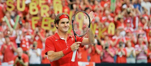 Забравил разочарованието, Федерер ще атакува Davis Cup