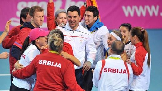 Исторически полуфинал за Сърбия за Фед Къп