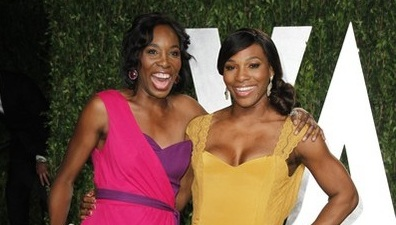 Шарапова и сестри Уилямс заедно на парти след Оскарите (снимки)