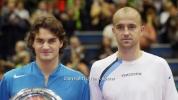 Преди 12 години: Федерер триумфира в Маями срещу сегашния си треньор (видео)