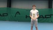 Пьотр Нестеров и Александра Габровска са шампиони от Държавното първенство на закрито до 18 г.