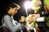 Рафа Надал сменя ракетата (видео)