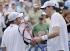 Родик и Иснър играха за фондацията на Новицки