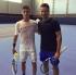 Само в Tennis24.bg: Лазаров тренира с бивш №1