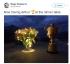 Федерер даде име на купата от Уимбълдън
