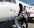 Димитров отлетя за Барселона с частен самолет (снимка)