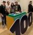 Стефан Цветков поздрави Роджър Федерер за титла номер 100