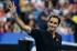 Федерер прегази Тиафо за по-малко от час