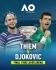 Джокович срещу Тийм в първия голям финал за сезона